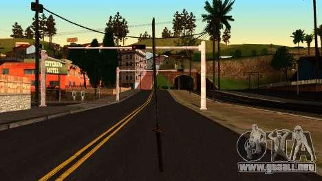 Katana from Shadow Warrior para GTA San Andreas