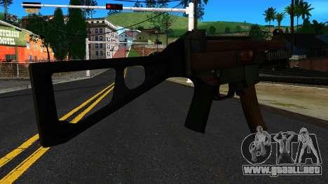 UMP9 from Battlefield 4 v1 para GTA San Andreas segunda pantalla