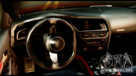 Audi RS5 2013 para GTA San Andreas vista posterior izquierda