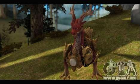 Kirin Dragon (TERA Online) para GTA San Andreas tercera pantalla
