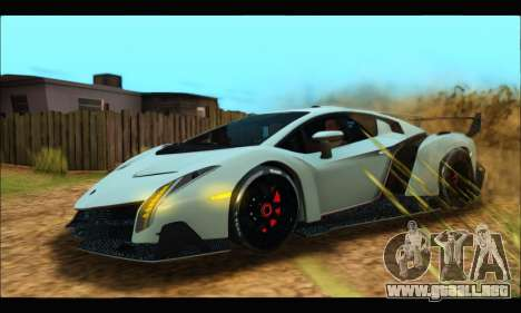 Lamborghini Veneno 2013 HQ para GTA San Andreas