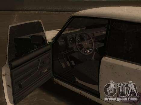 VAZ 2105 Rusty comedero para la visión correcta GTA San Andreas