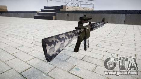 El rifle M16A2 [óptica] siberia para GTA 4 segundos de pantalla