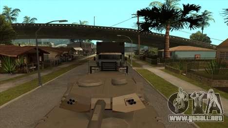 Transporte de tanque de remolque para GTA San Andreas