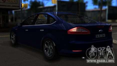 Ford Mondeo 2007 para GTA San Andreas left