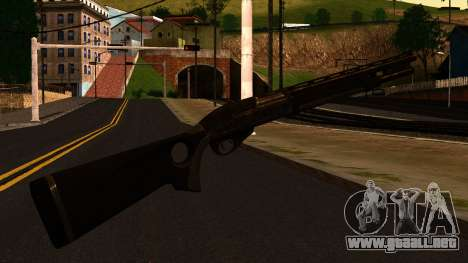 Shotgun from GTA 4 para GTA San Andreas segunda pantalla