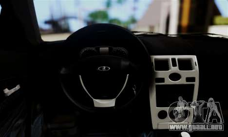 Lada Priora Sport para GTA San Andreas vista hacia atrás