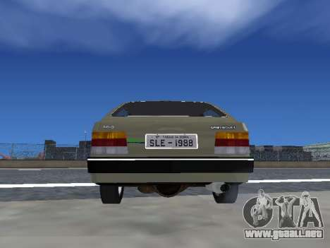 Chevrolet Chevette Hatch para visión interna GTA San Andreas