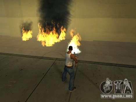 New Effects Pack White Version para GTA San Andreas novena de pantalla