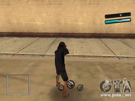 C-HUD Azure para GTA San Andreas