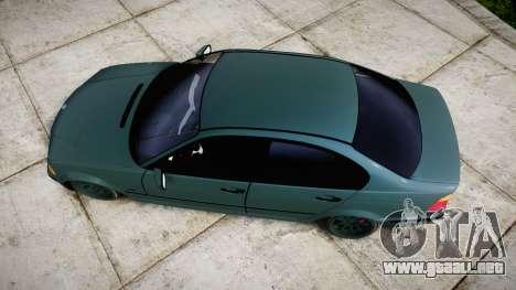 BMW E46 M3 2000 para GTA 4 visión correcta