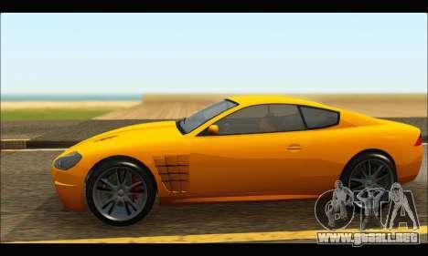 Ocelot  F620 (GTA V) para GTA San Andreas left