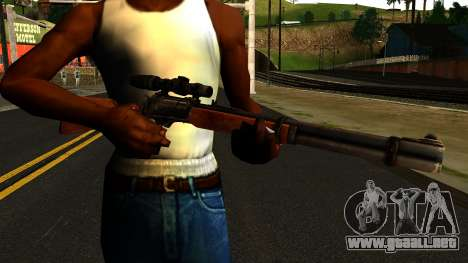 Marlin Model 1895 from Gotham City Impostors para GTA San Andreas tercera pantalla