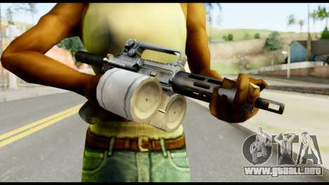 Patriot from Metal Gear Solid para GTA San Andreas