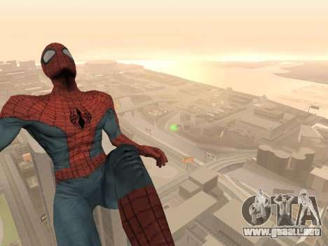 Spiderman 3 Crawling para GTA San Andreas tercera pantalla
