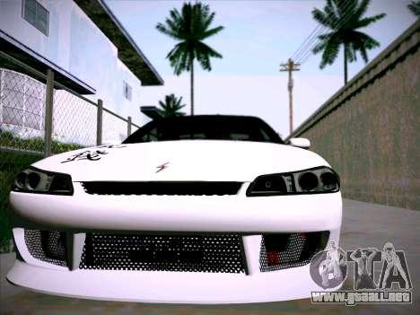 Nissan Silvia S15 Roux para GTA San Andreas vista hacia atrás