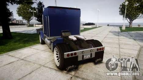 JoBuilt Phantom Drift para GTA 4 Vista posterior izquierda