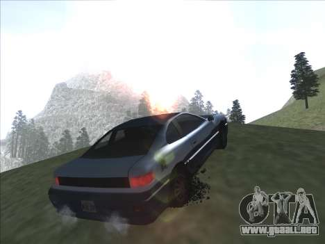 Agradable ColorMod para GTA San Andreas sexta pantalla