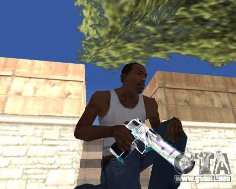 Graffity weapons para GTA San Andreas sexta pantalla