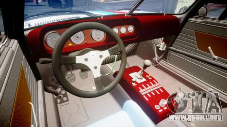 BMW 3.0 CSL Group4 [29] para GTA 4 vista interior