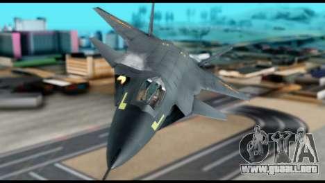 Chenyang J-20 BF4 para la visión correcta GTA San Andreas