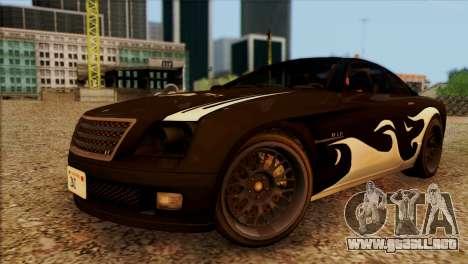 Schyster Fusilade Sport 1.0 (HQLM) para visión interna GTA San Andreas