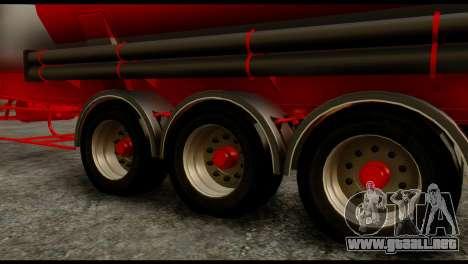 Mercedes-Benz Actros Trailer ND para la visión correcta GTA San Andreas