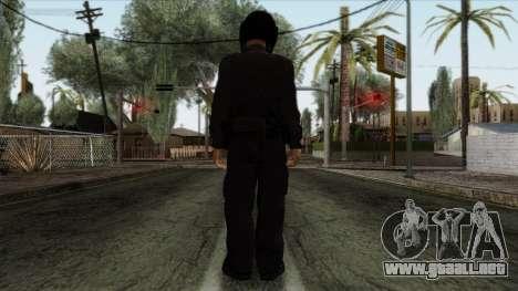 GTA 4 Skin 40 para GTA San Andreas segunda pantalla