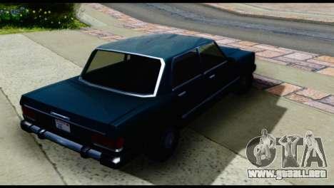 Cuatro Feltzer para GTA San Andreas vista posterior izquierda