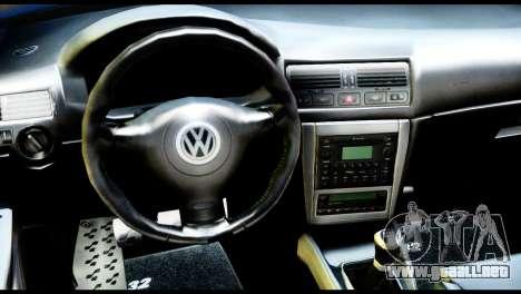 Volkswagen Golf MK4 R32 Stance v1.0 para la visión correcta GTA San Andreas