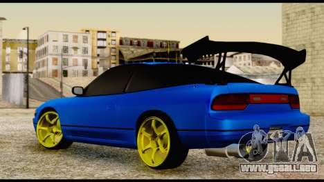 Nissan Silvia S13 Sileighty Drift Moster para GTA San Andreas left