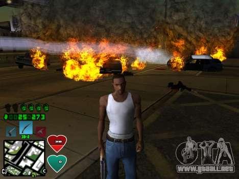 C-HUD Classic v4.1 para GTA San Andreas segunda pantalla