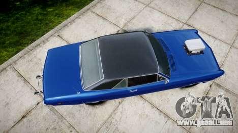 GTA V Albany Buccaneer Little Wheel para GTA 4 visión correcta