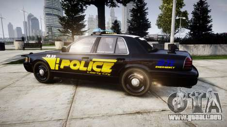 Ford Crown Victoria 2008 LCPD [ELS] para GTA 4 left
