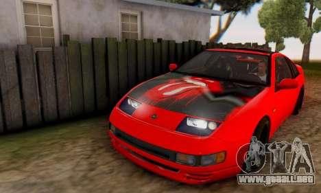 Nissan 300XZ The Rolling para vista lateral GTA San Andreas