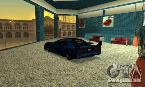 HD Turismo para GTA San Andreas vista posterior izquierda