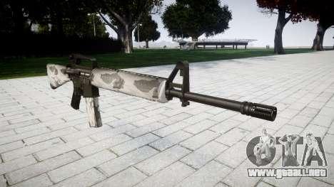El rifle M16A2 yukon para GTA 4