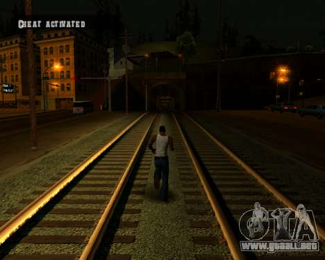 Colormod Dark Low para GTA San Andreas octavo de pantalla