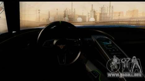 New ZR-350 (ZR-380) v1.0 para la vista superior GTA San Andreas
