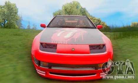 Nissan 300XZ The Rolling para GTA San Andreas vista hacia atrás