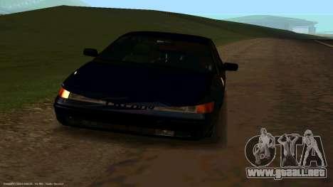 VAZ 21123 de Bad Boy para la visión correcta GTA San Andreas