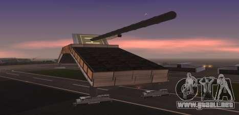Landkreuzer P. 1500 Monster for SA:MP para GTA San Andreas tercera pantalla