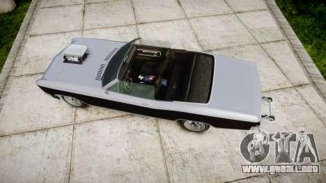 GTA V Albany Buccaneer paint2 para GTA 4 visión correcta