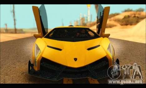 Lamborghini Veneno 2013 HQ para GTA San Andreas left
