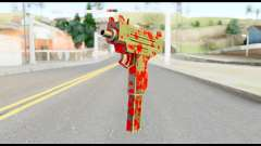 Micro SMG with Blood para GTA San Andreas