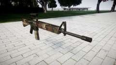 El rifle M16A2 [óptica] erdl para GTA 4
