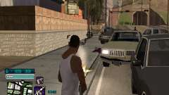 Beautiful C-HUD para GTA San Andreas