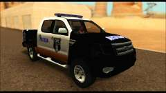 Ford Ranger P.B.A 2015 Text3 para GTA San Andreas