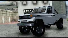 Toyota Land Cruiser Macho Pick-Up 2007 4.500 para GTA San Andreas
