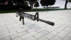 El rifle M16A2 [óptica] siberia